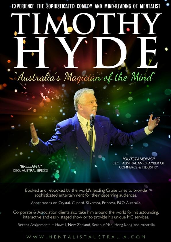 Australian Mentalist Timothy Hyde